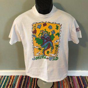 1994 Jokers are Wild Casino Shirt Poker Medium